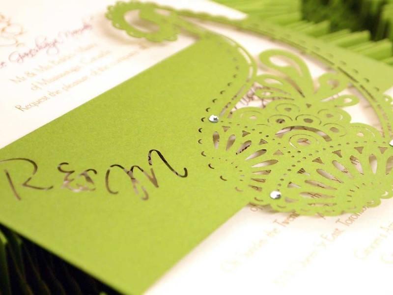 Laser Cut Wedding Invitations | Intricate Creations - Part 6