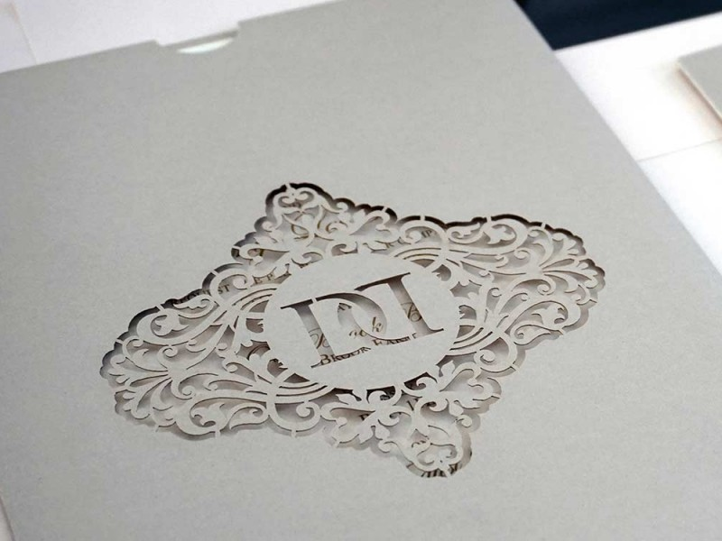 Laser Cut Wedding Invitations | Intricate Creations