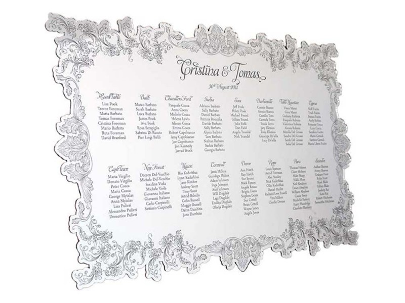 wedding seating planner