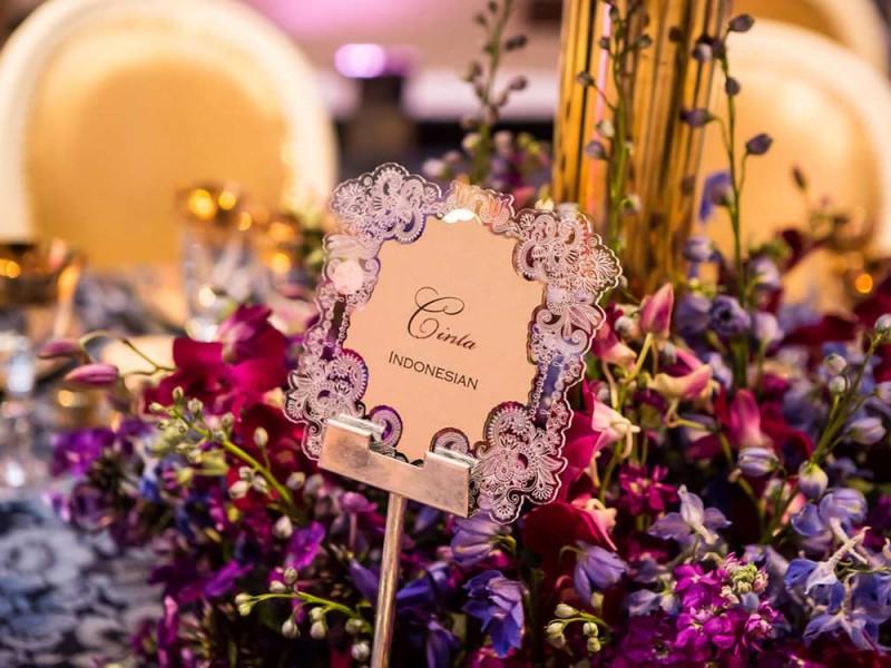Modern Indian Wedding Invitations Uk: Bespoke Laser Cut Wedding Invitations UK