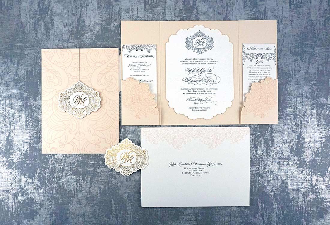 Seal Invitation How Swarovski Crystal thanksgiving greeting cards